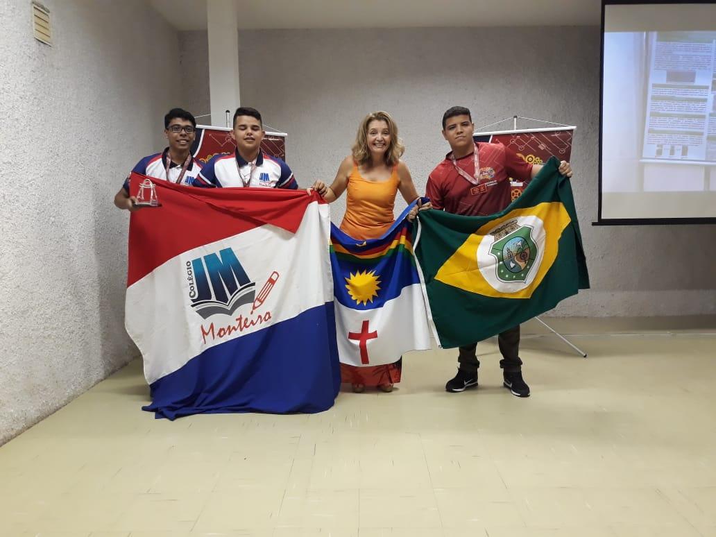 Colégio JM Monteiro, 1° Lugar na FENECIT