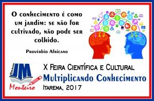 LogoQ - X feira de ciências cjmm 2017